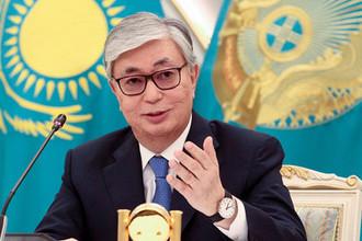 Избранный президент Казахстана Касым-Жомарт Токаев во время пресс-конференции в Нур-Султане, 10 июня 2019 года