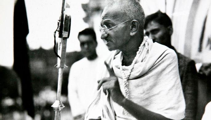 Махатма Ганди, 1931 год