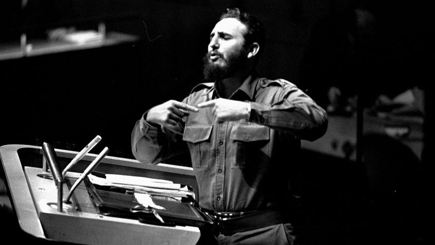 60 лет назад Фидель Кастро прибыл в США на сессию ООН