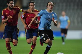 Уругвай сотворил главную сенсацию первенства