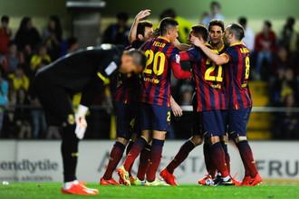 «Барселона» победила на выезде «Вильярреал», уступая ему по ходу матча 0:2