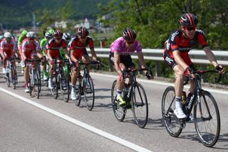 Участники велогонки «Джиро д'Италия»