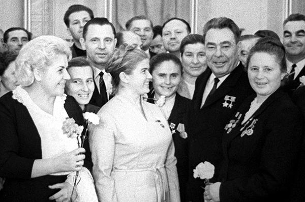 Брежнев очень любил женщин