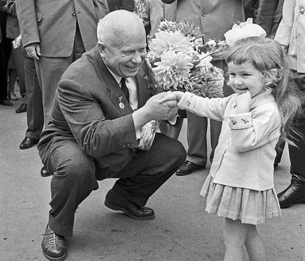 Хрущев тоже очень любил детей