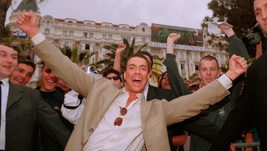 Жан-Клод Ван Дамм на 53-м Каннском кинофестивале в 2000 году