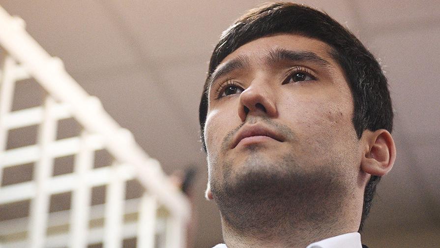 Руслан Шамсуаров во время оглашения приговора в Гагаринском суде Москвы