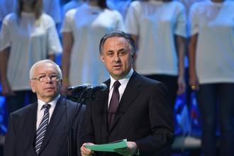 Президент ПКР Владимир Лукин (слева) и вице-премьер по спорту Виталий Мутко не смогли добиться снятия санкций с наших паратлетов