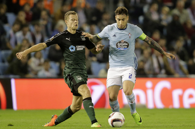 «Краснодар» в гостях уступил испанской «Сельте» со счетом 2:1 в первом матче 1/8 финала Лиги Европы