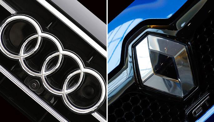 Audi и Renault устроили маски-шоу
