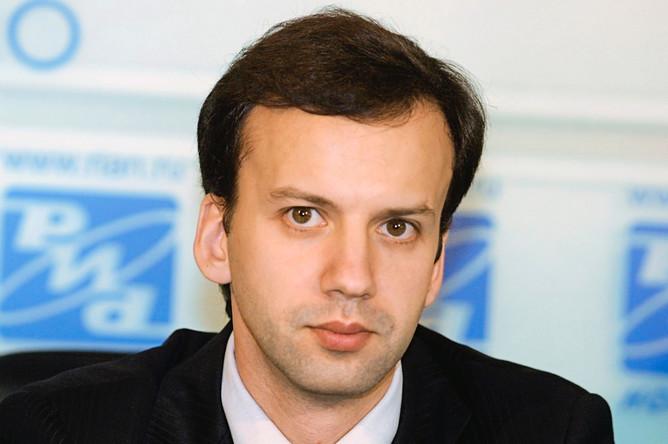 Заместитель министра экономического развития и торговли РФ Аркадий Дворкович, 2003 год