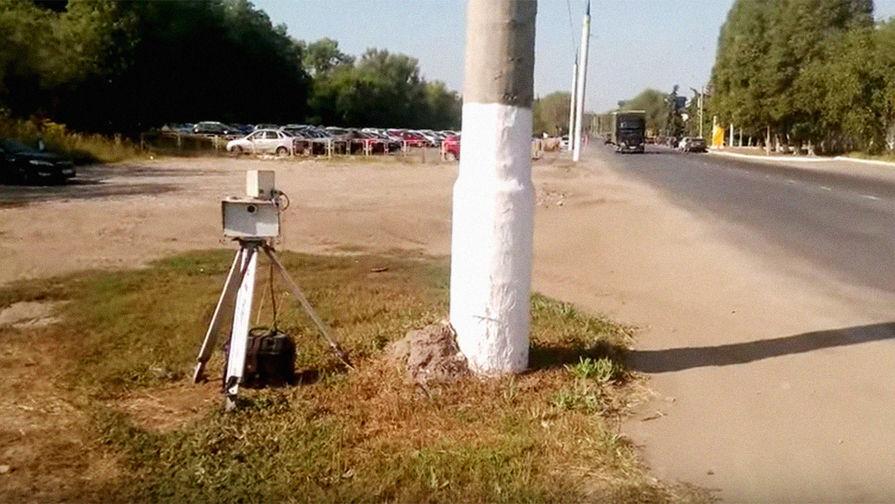 Камера фиксации нарушений, архивный кадр