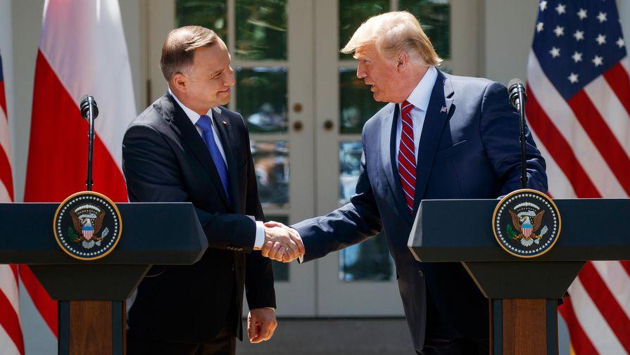 Трамп и Дуда обсудили план противостояния «Северному потоку — 2»