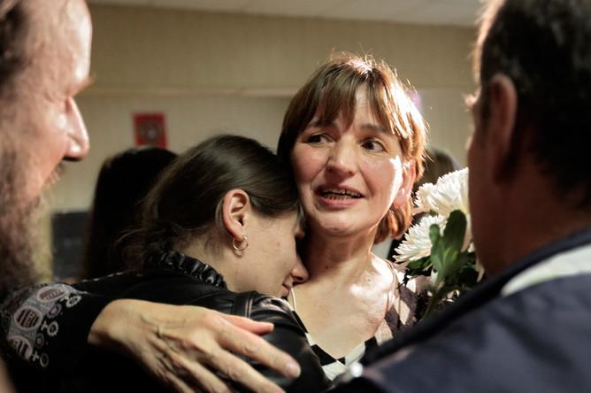 Ольга Зеленина была освобождена из-под стражи в зале суда