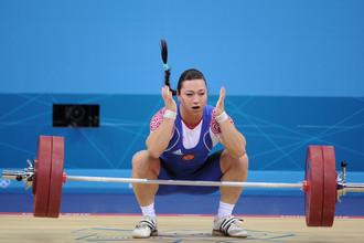 Надежда Евстюхина на Олимпиаде в Лондоне