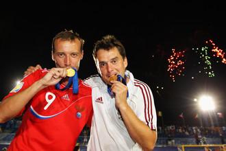 Два года назад Егор Шайков (слева) и Михаил Лихачев уже попробовали на вкус золото чемпионата мира