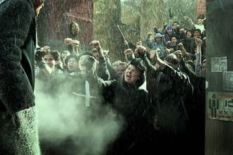 Кадр из фильма «Обитаемый остров», снятый по знаменитой «антитоталитарной» повести братьев Стругацких