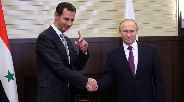 Путин сообщил Асаду о договоренностях с Эрдоганом по Идлибу - Газета.Ru