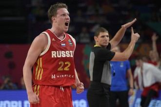 Баскетболист сборной России Дмитрий Кулагин