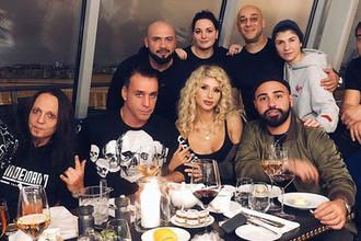 «Моя ночь»: Лобода отметила день рождения с лидером Rammstein