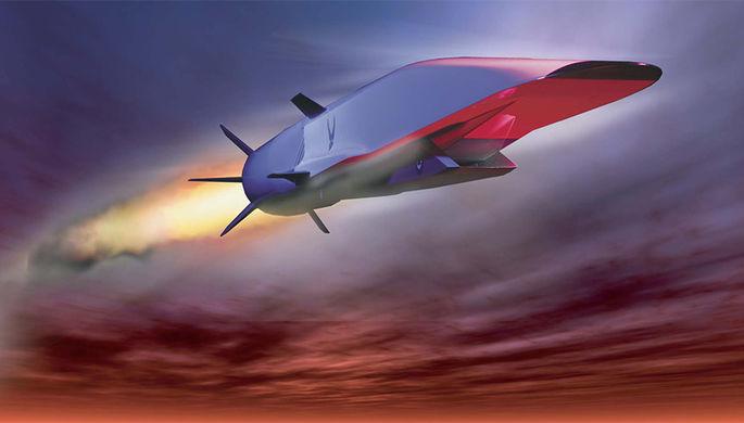 3D модель гиперзвуковой ракеты «Циркон»