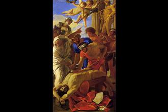 Никола Пуссен. Мучение святого Эразма. 1628