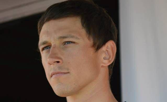 Российский велогонщик Александр Порсев