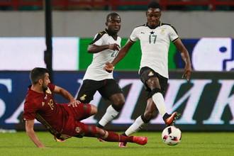Футболист сборной Ганы Рахман Баба
