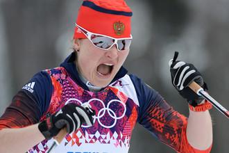 Лыжница Евгения Шаповалова
