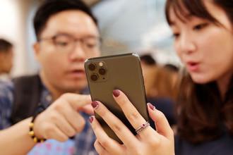 Старт продаж новых iPhone в Пекине, 20 сентября 2019 года