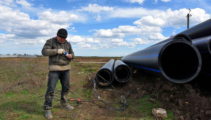 Невозможно: Рада не хочет давать Крыму воду