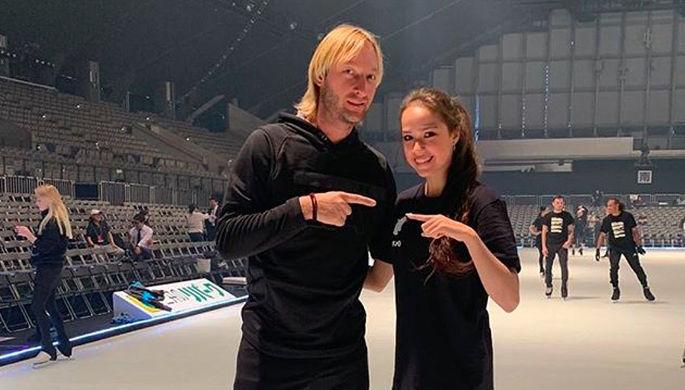 Алина Загитова и Евгений Плющенко