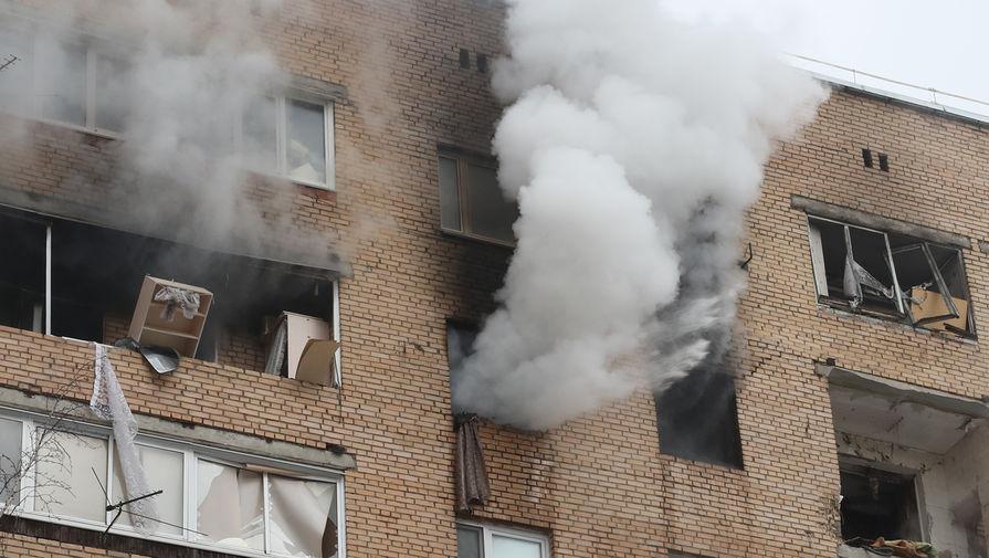 Очевидцы рассказали подробности взрыва в жилом доме в Химках