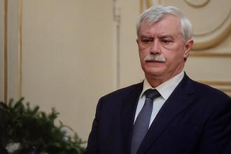 Губернатор Санкт-Петербурга Георгий Полтавченко