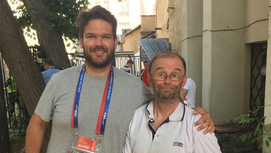 Британский болельщик пропал в Самаре и нашелся пьяным в Москве