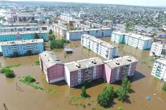 Наводнение в Иркутской области, 30 июня 2019 года