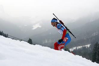 Антон Шипулин стал третьим в масс-старте
