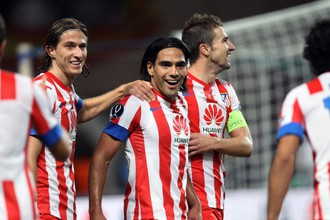 Радамель Фалькао в матче за Суперкубок Европы