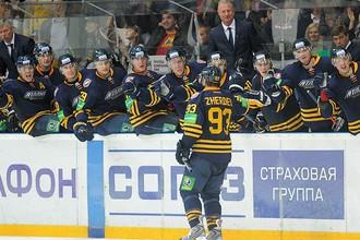 Николай Жердев в матче с «Амуром» сделал решающую результативную передачу