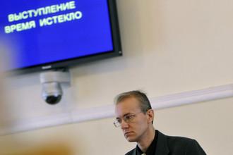 Глава астраханского отделения «Справедливой России» Олег Шеин