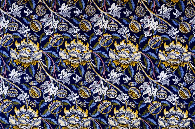 Уильям Моррис. Образец ткани для мебели