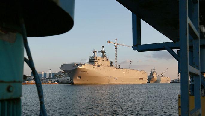 Отказ от мечты: ВМФ обойдутся без вертолетоносцев
