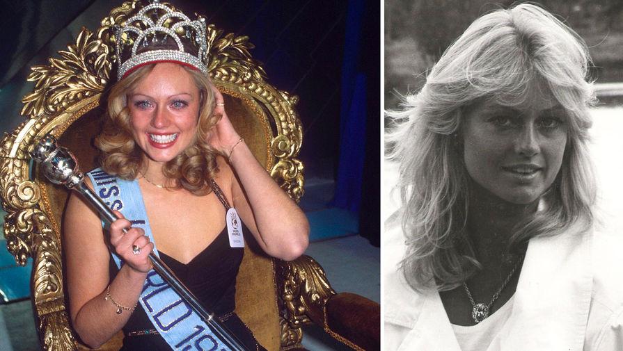 Мари Стэвин (Швеция), 20 лет, Мисс Мира — 1977