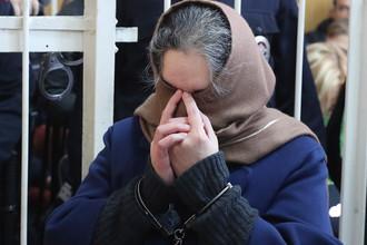 Бывший президент ООО «Внешпромбанк» Лариса Маркус, обвиняемая в хищении более 114 млрд рублей, во время оглашения приговора в Хамовническом суде