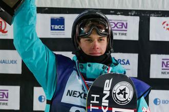 Российский сноубордист Влад Хадарин