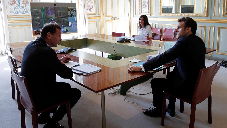 Францын Ерөнхийлөгч Эмманюэль Макрон