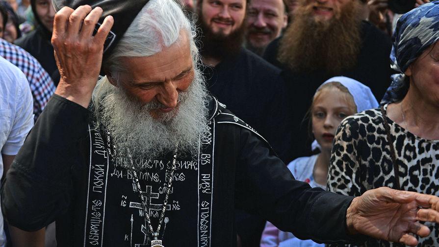 Схиигумен Сергий (Николай Романов) в Среднеуральском женском монастыре