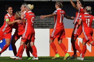Женская сборная России по футболу победила команду Италии
