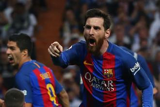 Лионель Месси забил победный мяч в ворота «Реала» в «эль класико»