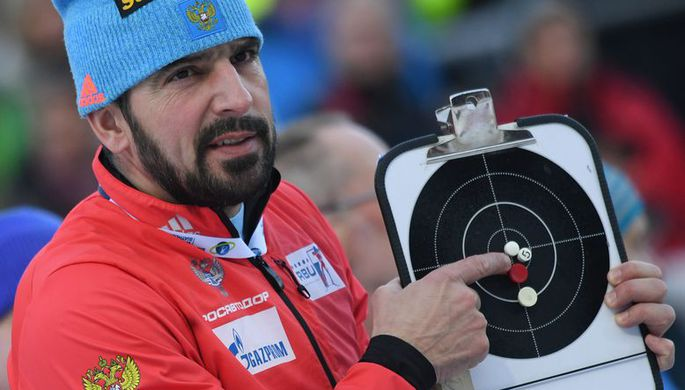 Старший тренер мужской сборной России Рикко Гросс