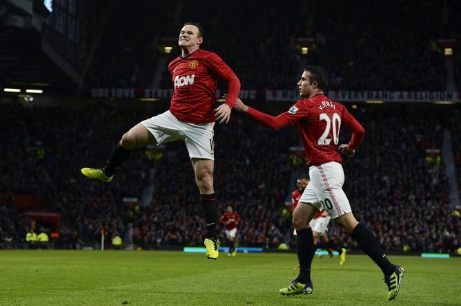 Гол Уэйна Руни приблизил «Манчестер Юнайтед» к чемпионству